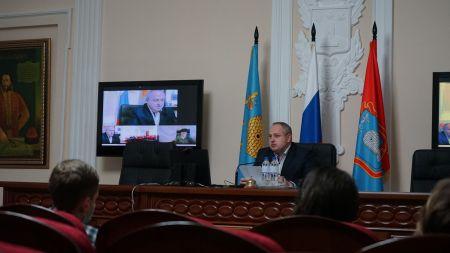 Максим Косенков провёл заседание городского оперштаба по профилактике коронавирусной инфекции