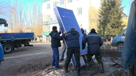 Максим Косенков  распорядился ликвидировать в Тамбове незаконные рекламные конструкции