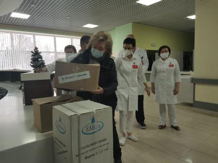 В тамбовские больницы передали около 100 единиц бытовой техники