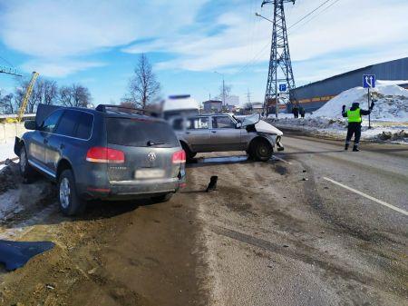 В Тамбове на Монтажников в ДТП серьезно пострадали два человека