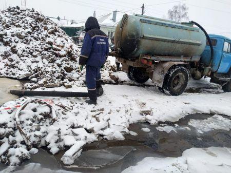 Часть Кирсанова из-за аварии третьи сутки остается без воды