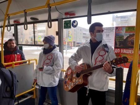 """В Тамбове автобус 8 маршрута превратился в """"весенний экспресс"""""""