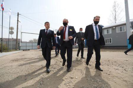 Игорь Маковский посетил Рассказовский РЭС Тамбовэнерго