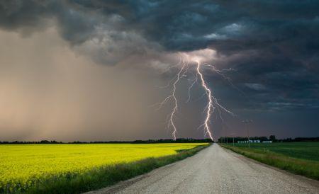 В Тамбове и области в ближайшие часы ожидается гроза и сильный ветер