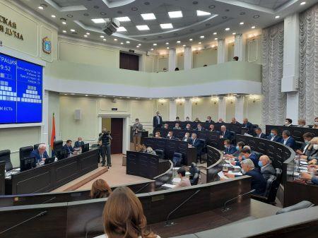В Тамбовской областной Думе избрали заместителей председателя и руководителей комитетов