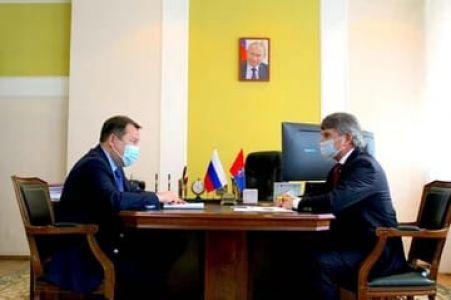Максим Егоров и Игорь Маковский обсудили перспективы развития электросетевого комплекса Тамбовского региона